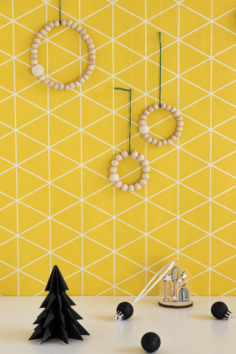 DIY : des suspensions de Noël scandinaves à fabriquer - Avril sur un fil