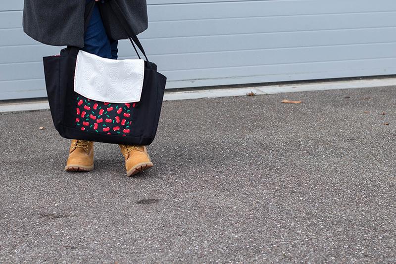 J'ai cousu le sac Emile de Petit Patron - Avril sur un fil