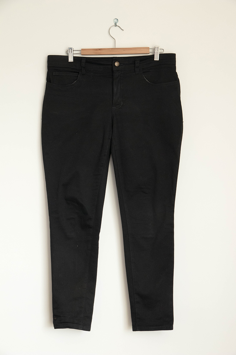 Jean Ginger Mid Rise Skinny - Avril sur un fil