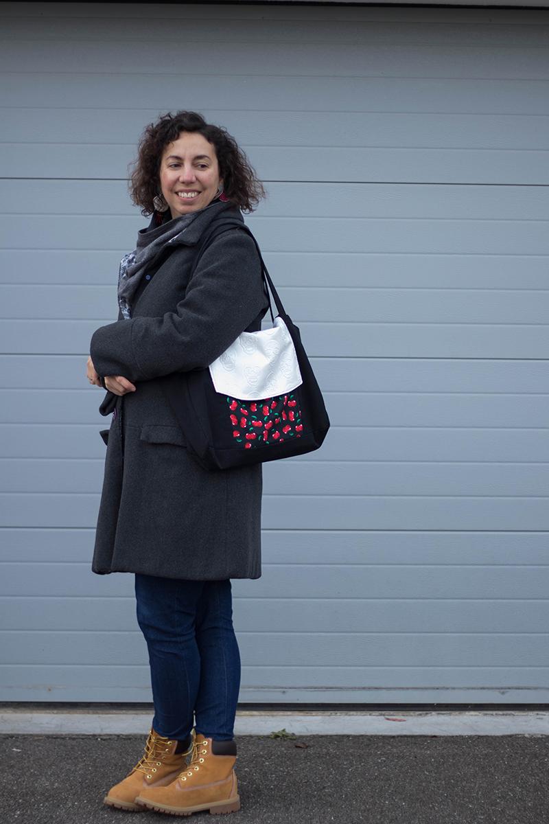Revue de patron couture : mon sac Emile de Petit Patron - Avril sur un fil