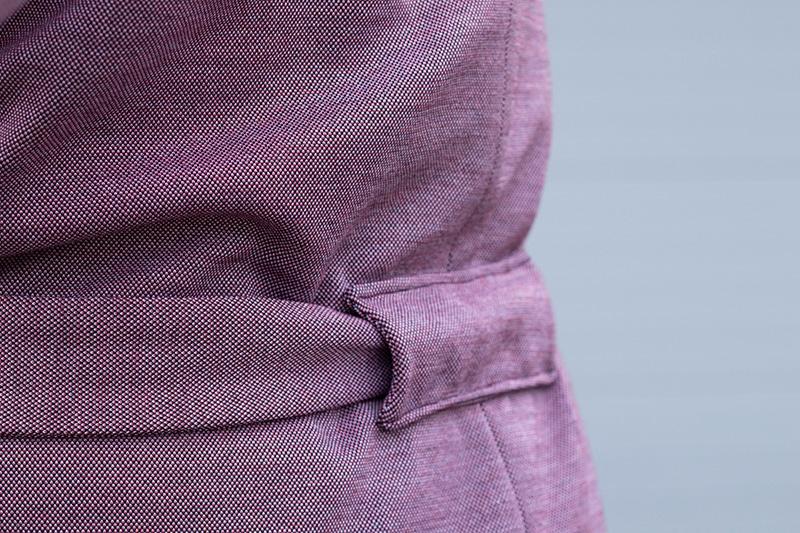 Passant de ceinture manteau olga de Mouna Sew - Avril sur un fil