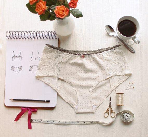 Sélection de patrons pour coudre tes culottes : Grace de Ohhh Lulu - Avril sur un fil