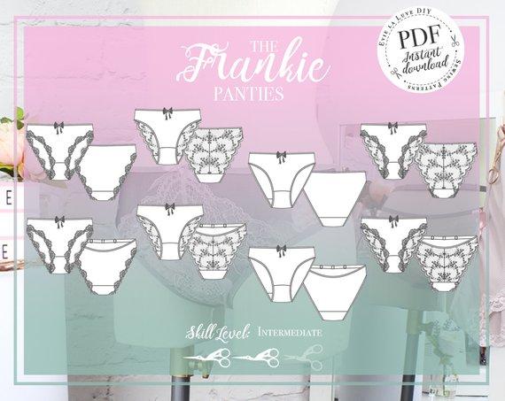 10 patrons de culottes à coudre : Frankie de Evie la luve - Avril sur un fil