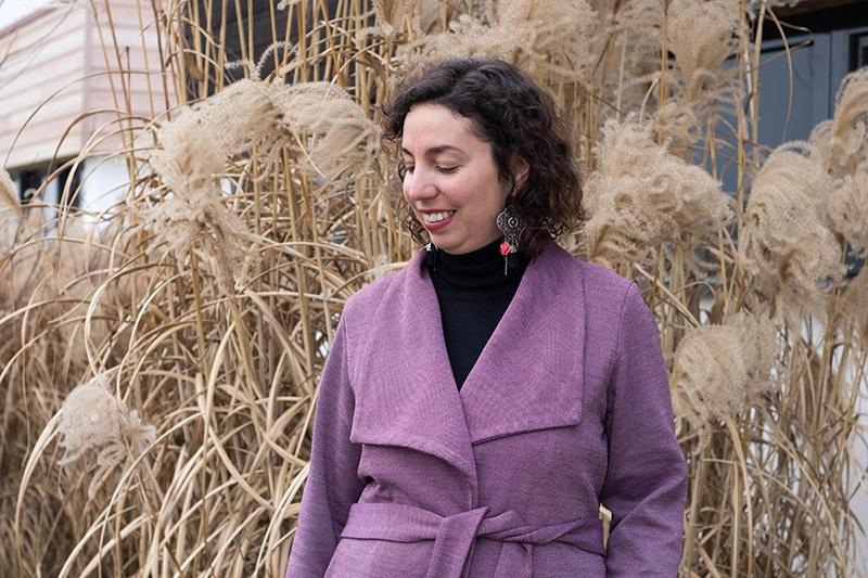 J'ai cousu le manteau Olga de Mouna Sew - Avril sur un fil