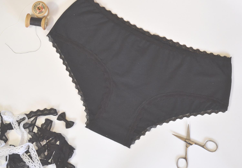 10 patrons de culottes à coudre : Billie de Eclipse Studio Lingerie - Avrils sur un fil