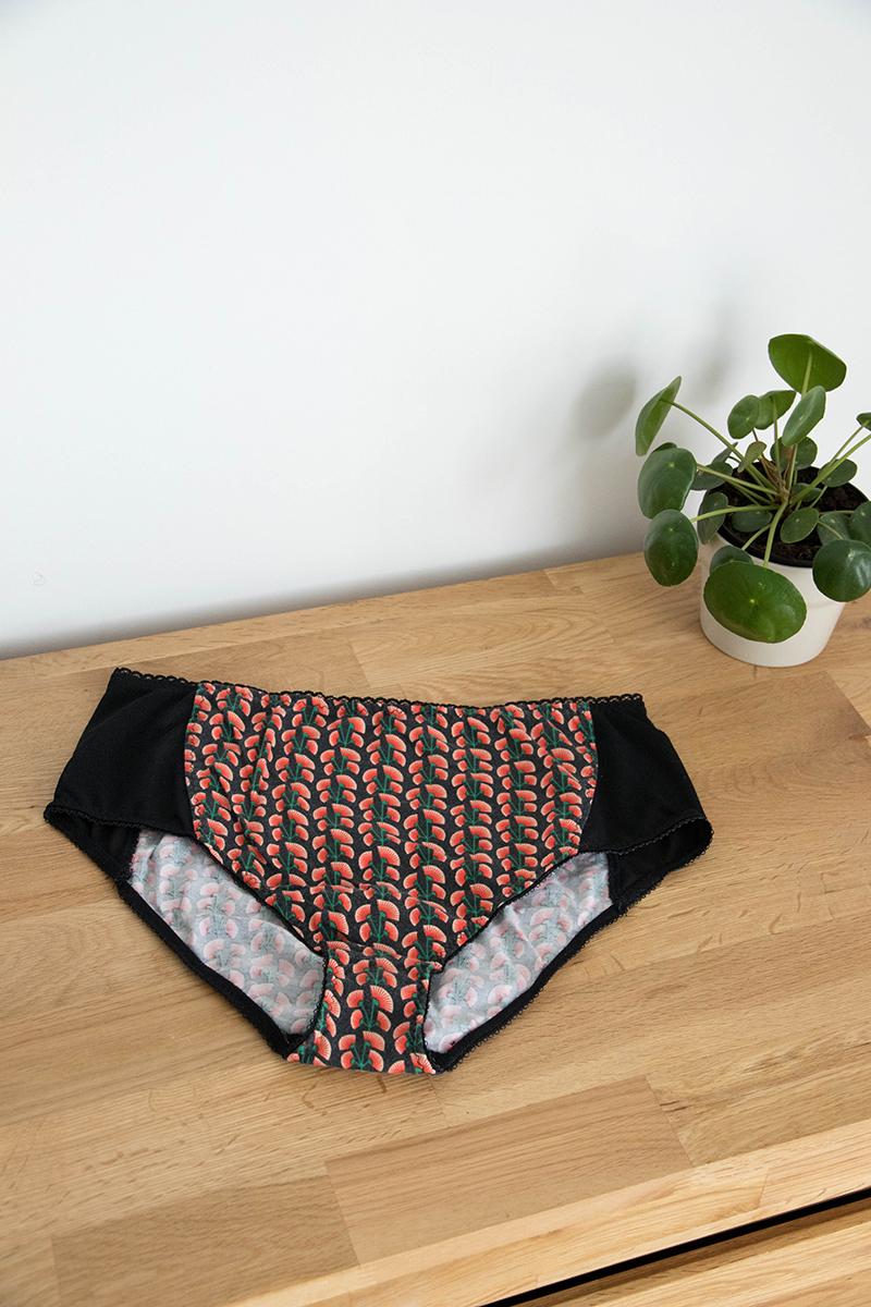 Couture : la culotte paola taille haute de Petit Patron - Avril sur un fil