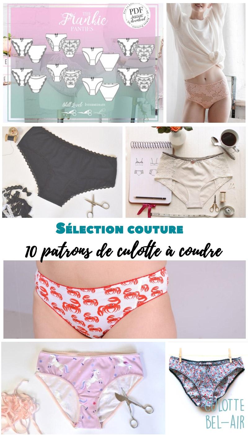 Sélection couture : 10 patrons de culotte à coudre - Avril sur un fil