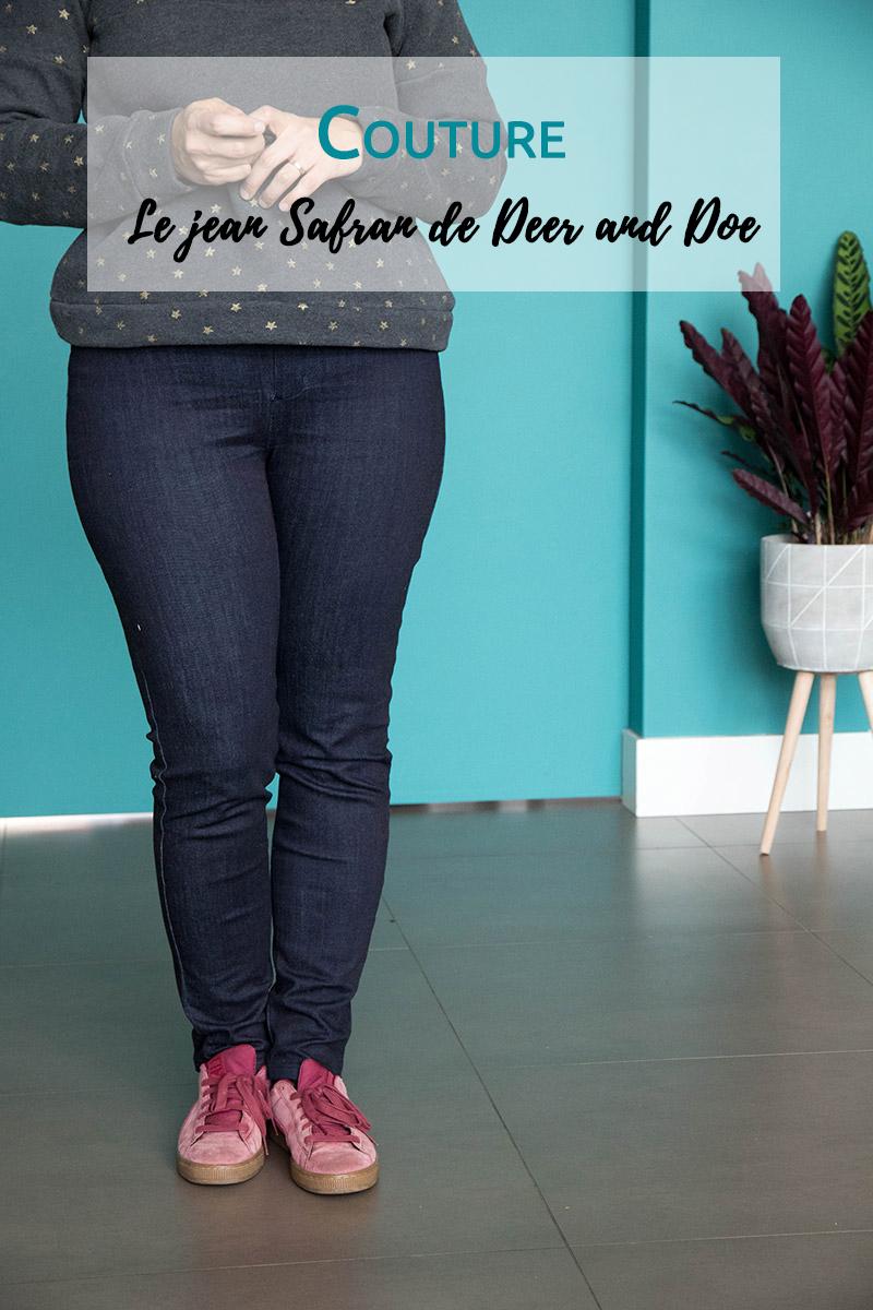 Mon nouveau jean safran de Deer and Doe - Avril sur un fil