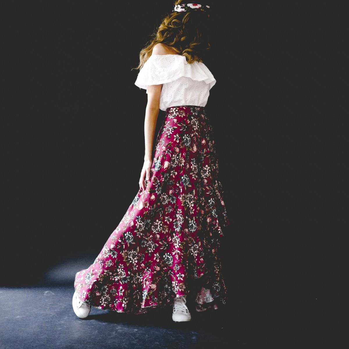 {Sélection couture} : 5 patrons de jupe longue à coudre : la Bohème de Vanessa Pouzet