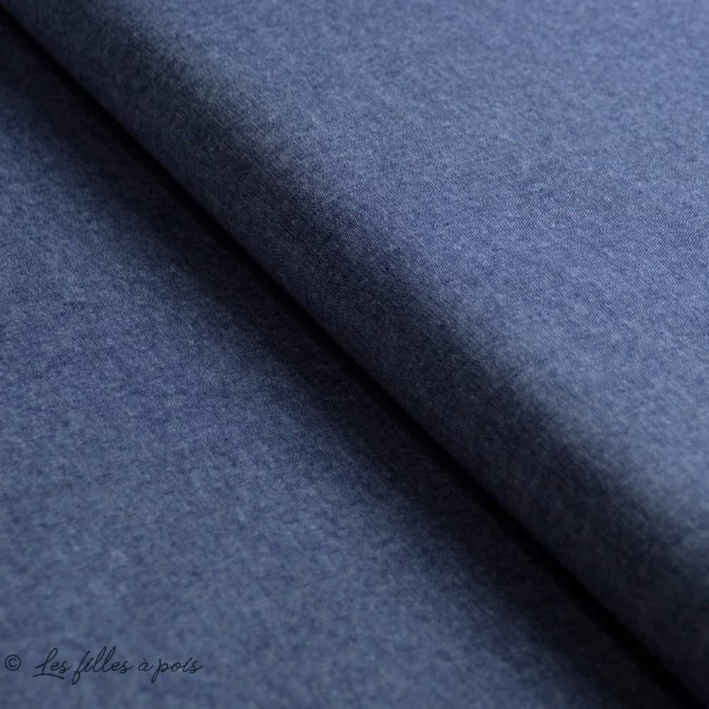 Patrons de jupe longues à coudre en Tissu Chambray - Les filles à pois