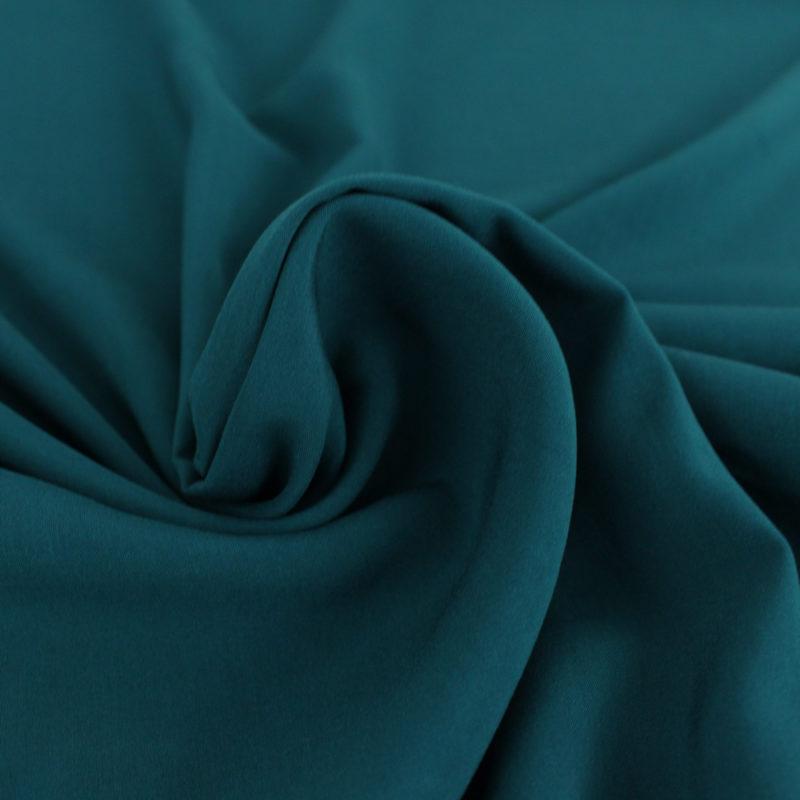 Tissu viscose pétrole - Mouna Sew