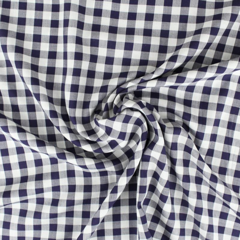 Tissu viscose vichy - Mouna Sew
