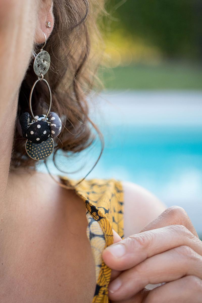 Couture : biais rapporté à l'encolure - Avril sur un fil