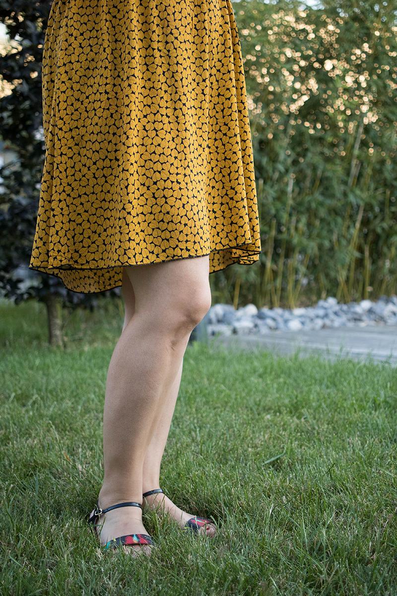 Couture : Ma robe d'été Myosotis x Lucie x Centaurée - Avril sur un fil