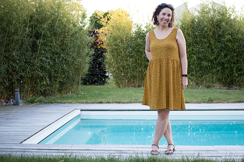 Couture : Ma robe d'été Myosotis x Lucie x Centaurée
