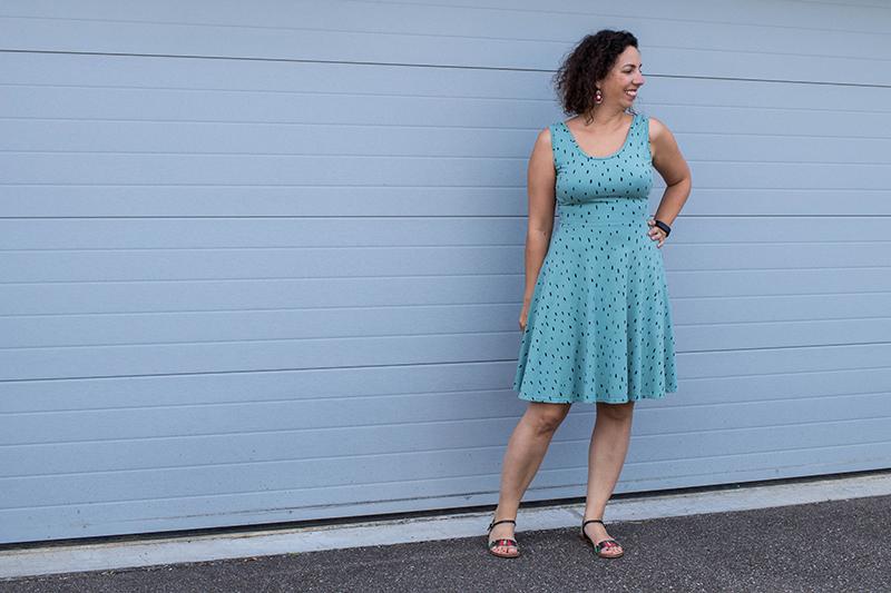 Couture : encore une robe Moneta de Colette Patterns