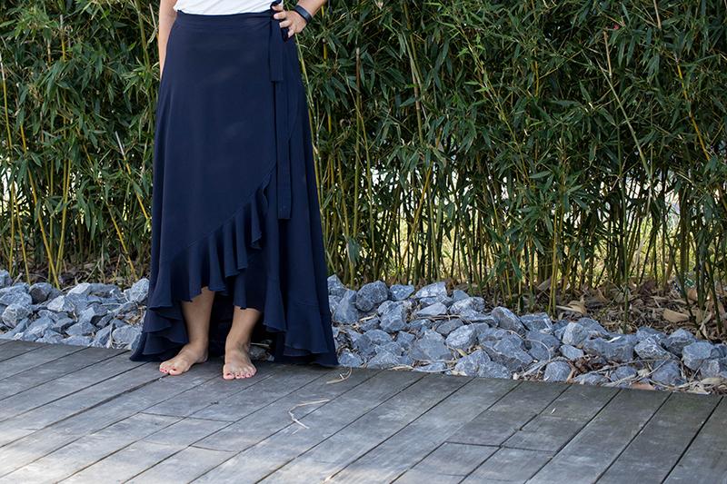 Couture : la jupe longue La Boheme de Vanessa Pouzet - Avril sur un fil