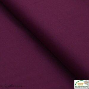 Tissu jersey coton uni pour coudre la combinaison Sirocco - Avrils sur un fil