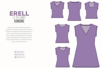 Coudre mes basiques : le tee-shirt Erell de Marie Poisson / Avril sur un fil