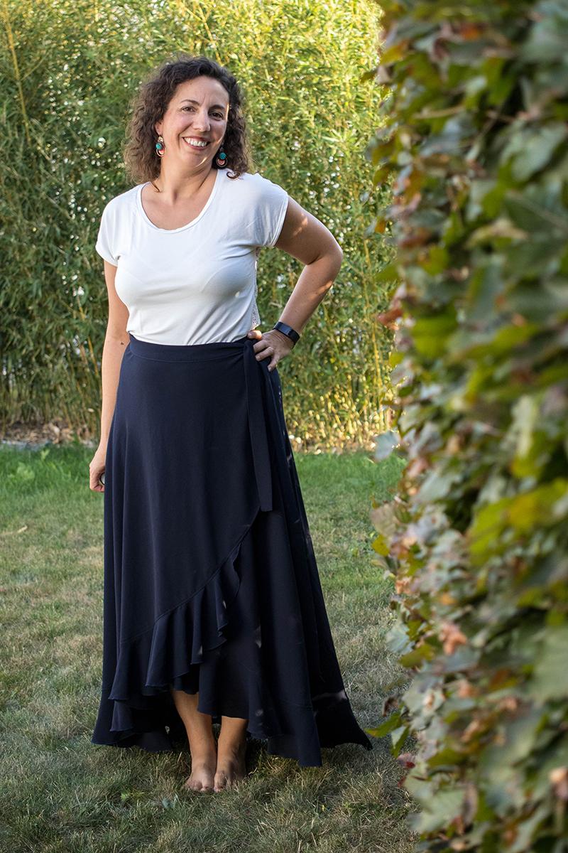 Couture : la jupe La bohème - Avril sur un fil