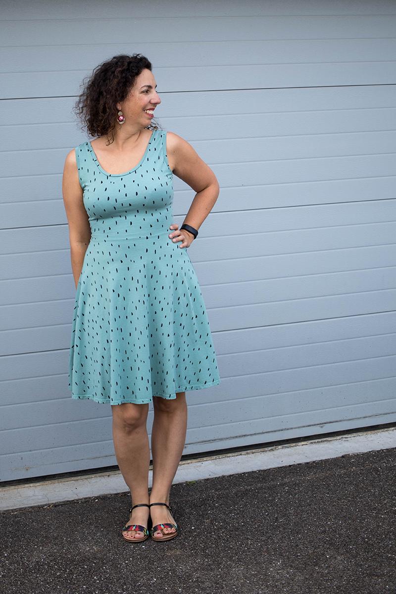 Couture : la robe Moneta de Colette Patterns - Avril sur un fil