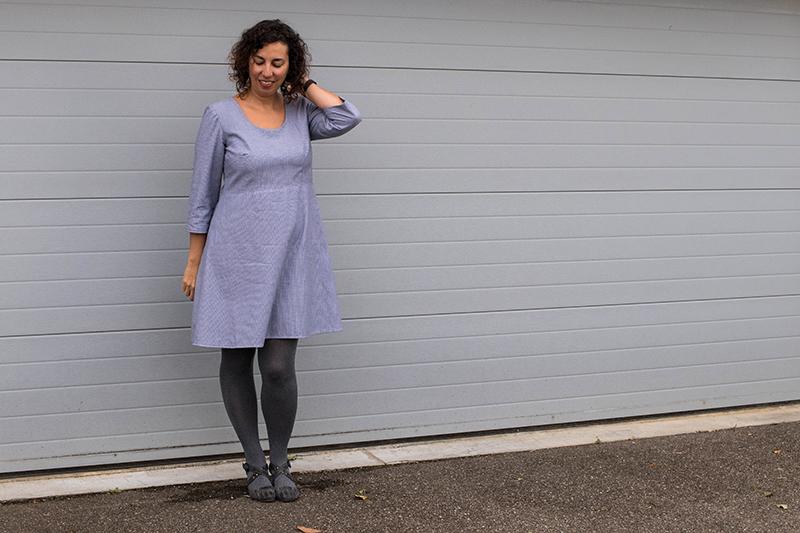 Couture : ma robe 1001 robes : Avril sur un fil