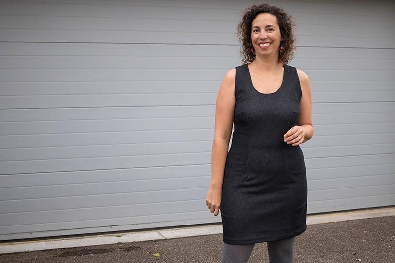 1001 robes de Michèle Thénot : le patron de base - Avril sur un fil