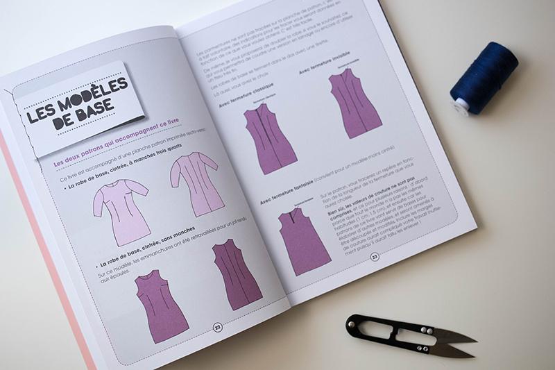Les modèles de base du livre - Avril sur un fil