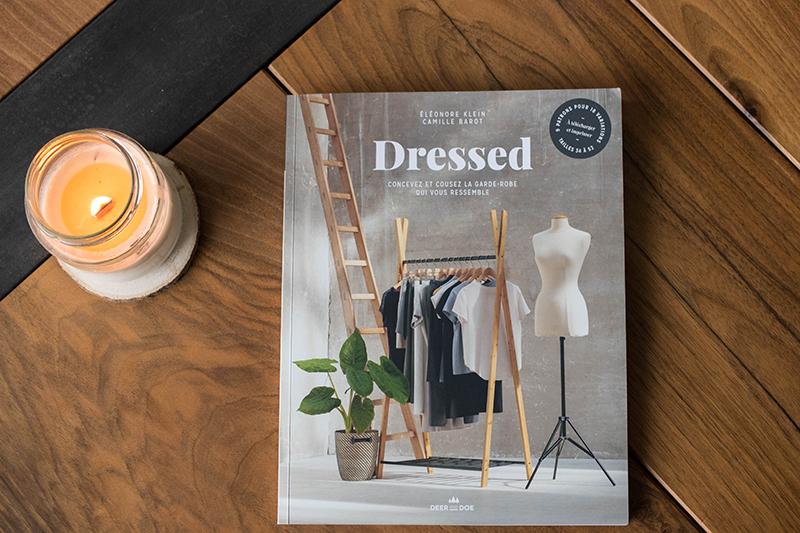 Dressed, le livre de Deer and Doe - Avril sur un fil