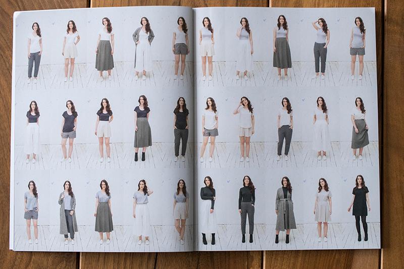 Dressed, le livre de Deer and Doe : les modèles - Avril sur un fil