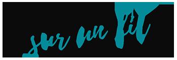 Logo Avril sur un fil, blog couture et DIY