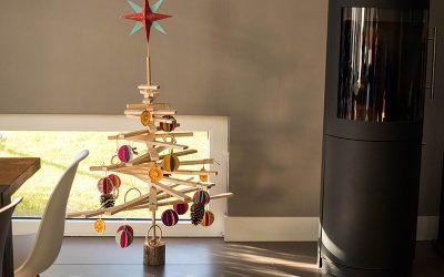DIY : Sapin de Noël en bois à fabriquer