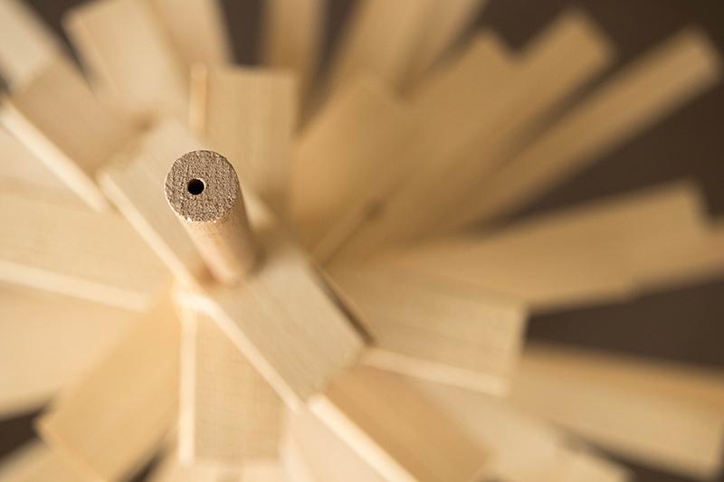 Sapin de Noël alternatif en bois - Avril sur un fil