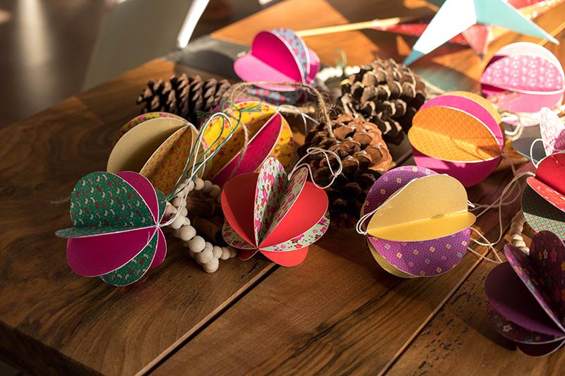 Les décos de Noël fait main - Avril sur un fil