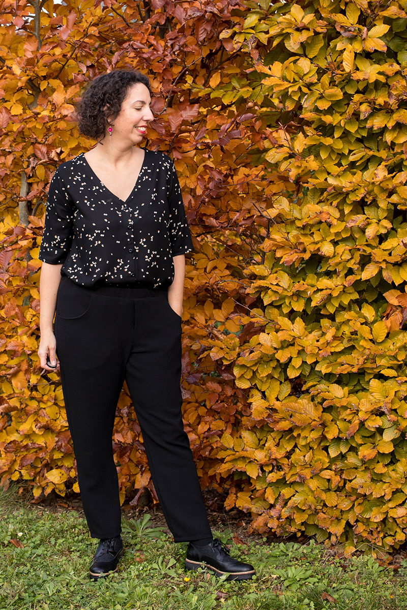 Tenue cousue main : pantalon et chemise by Deer and Doe - Avril sur un fil, blog couture et DIY