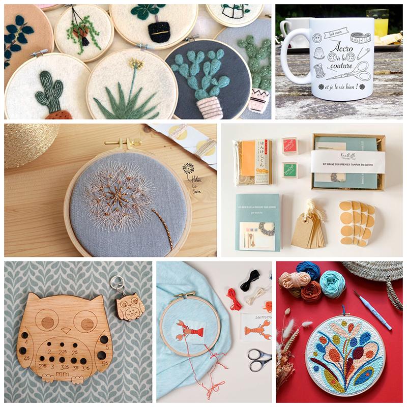 Selection d'idées kdo pour les créatives - Avril sur un fil