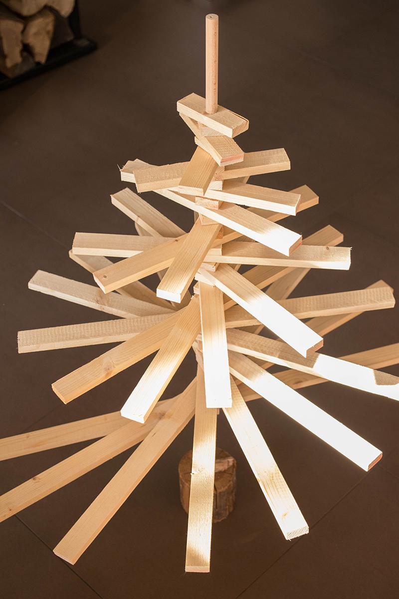 Tuto : fabrique ton sapin de Noël - Avril sur un fil