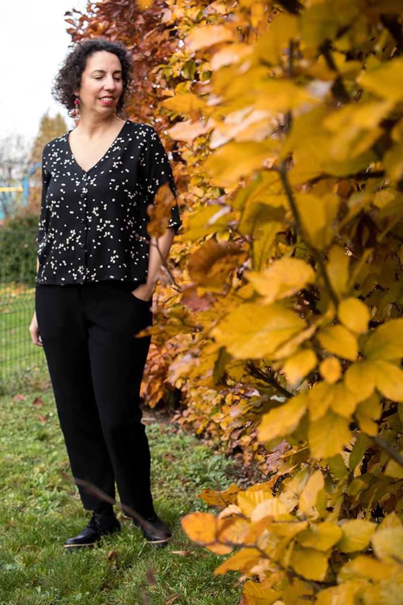 Couture : Pantalon et chemisier Dressed de Deer and Doe - Avril sur un fil