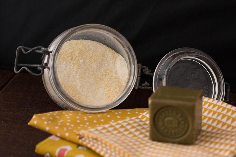 Lessive en poudre d'après le DIY de Banana Pancakes - Avril sur un fil