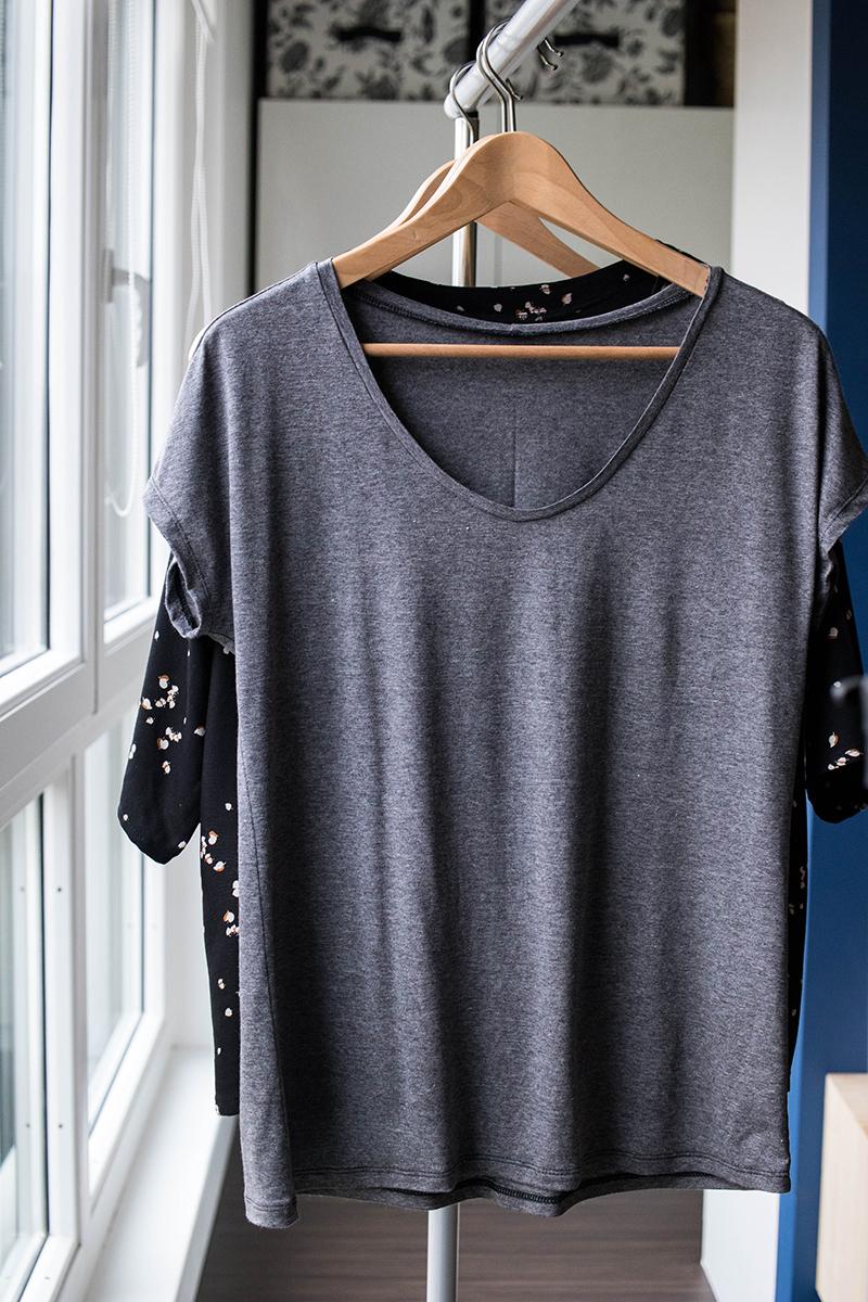 Dressed, le tee-shirt, la revue de patron - Avril sur un fil
