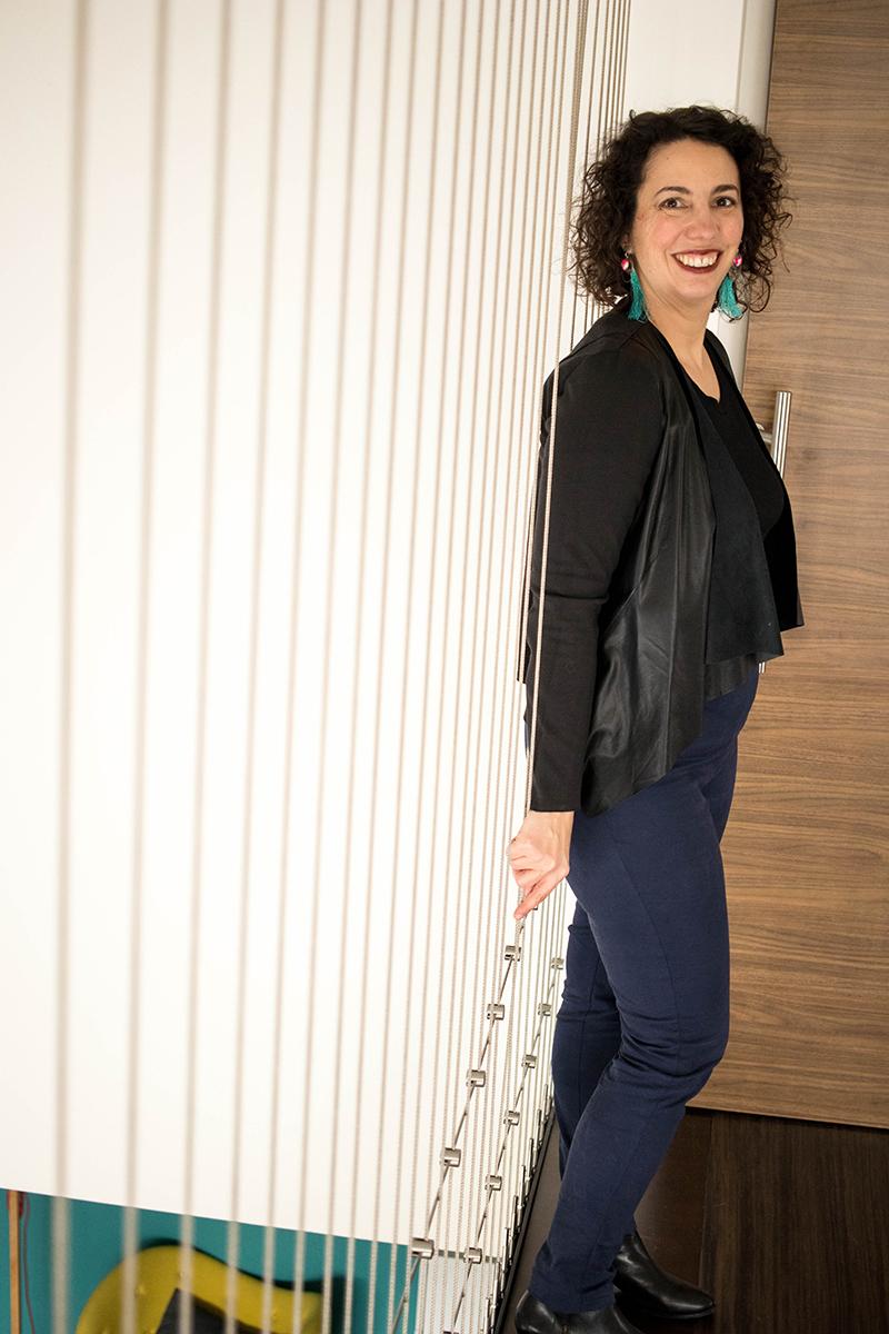 Couture du pantalon Safran hacké - Avril sur un fil