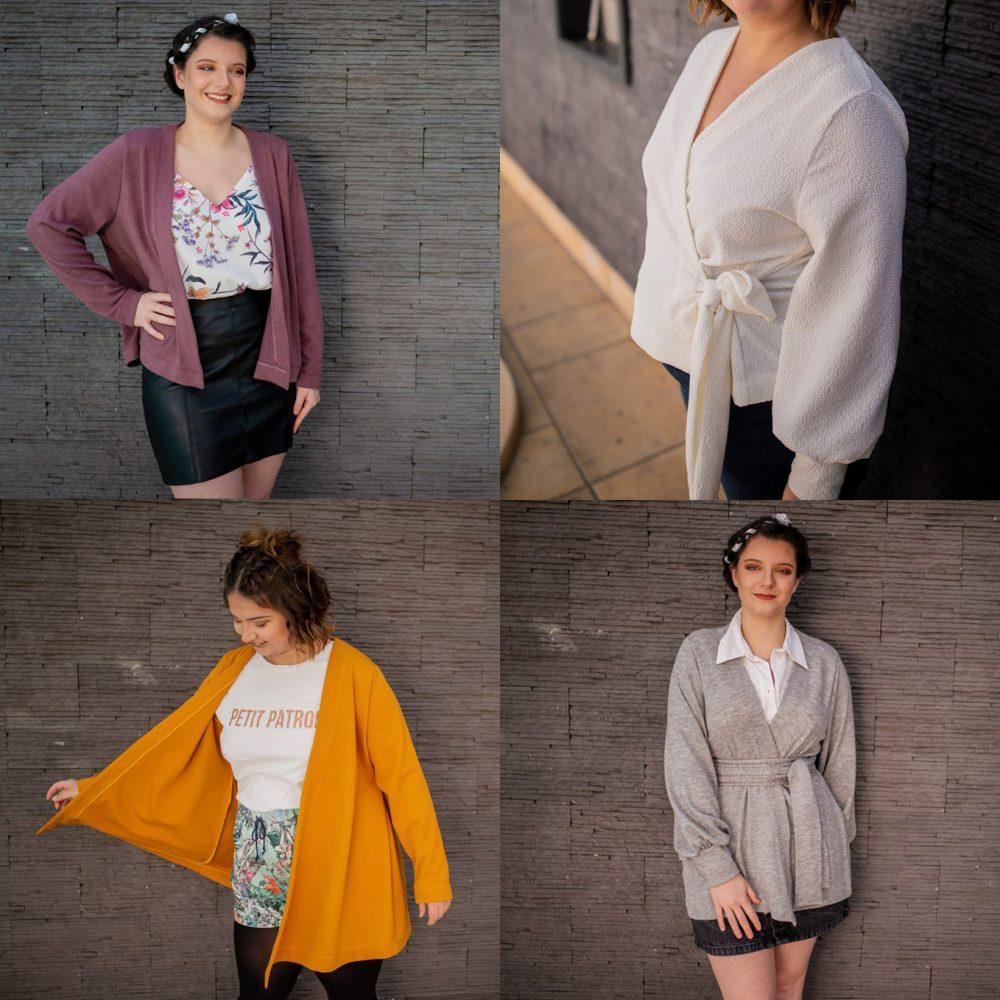 {Sélection couture} : 5 patrons de gilets pour ta garde-robe cousue main : le gilet Isidore de Petit Patron