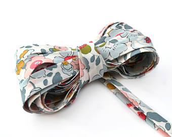 Fourniture couture sur Etsy : Biais Liberty