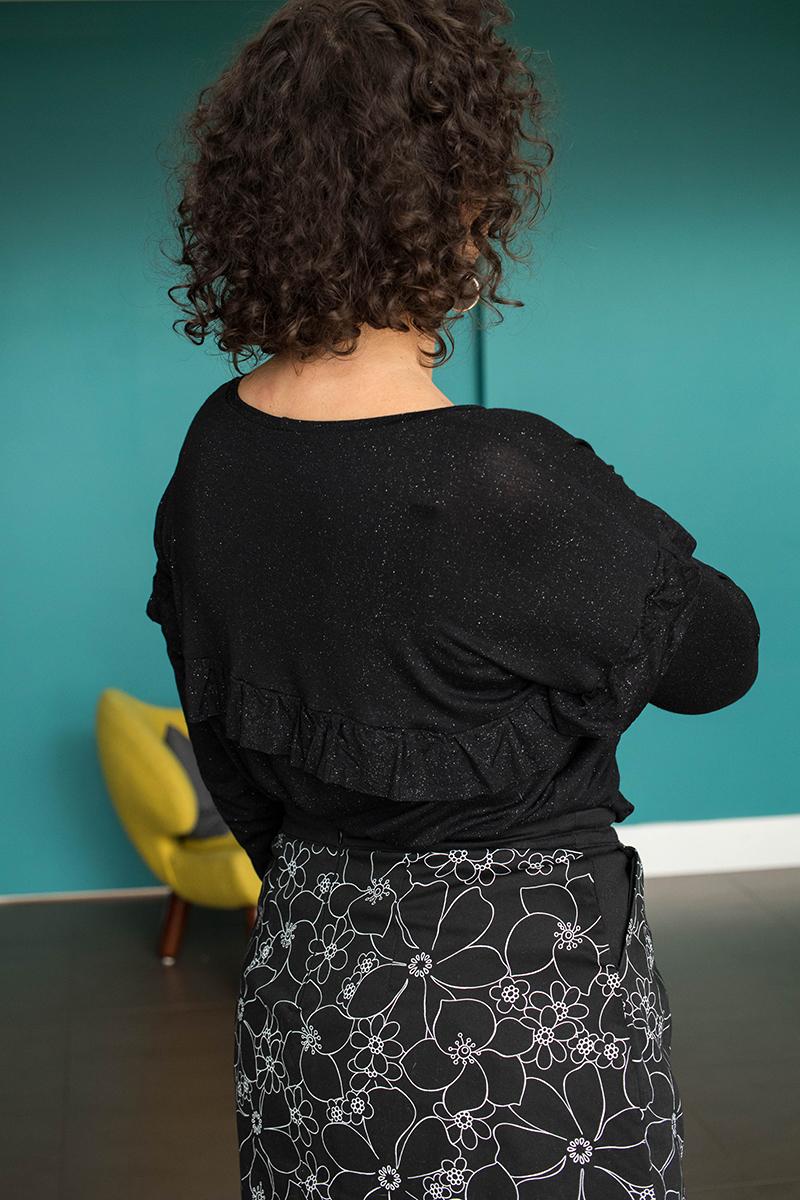 Le patron de couture Hemlock modifié - Avril sur un fil