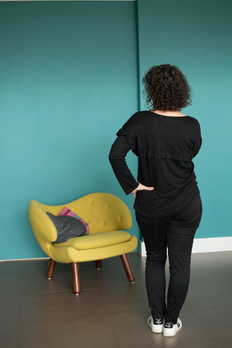 Couture : Helock tee de dos - Avril sur un fil