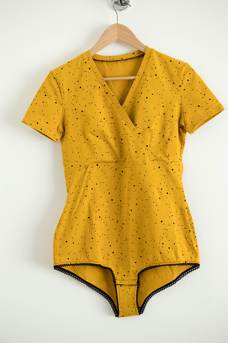 Couture du body Lizaig de Marie Poisson - Avril sur un fil