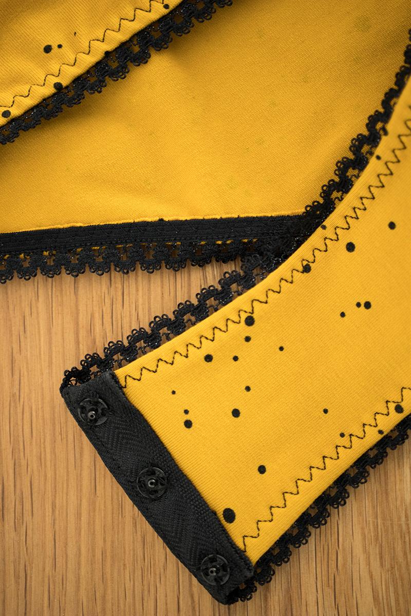 Couture : boutons-pressions pour la fermeture de mon body en jersey - Avril sur un fil