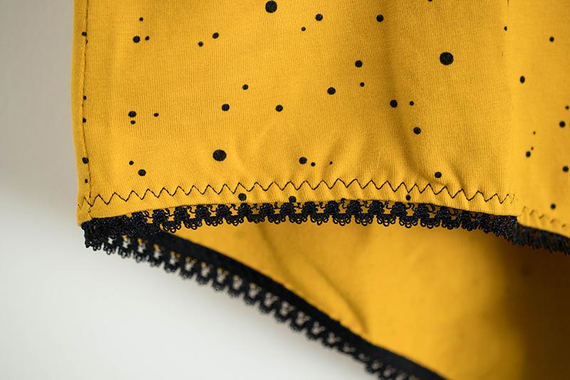 Élastique de tour de cuisses surpiqué au point zig zag triple - Avril sur un fil