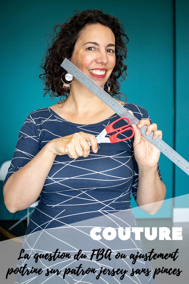 Couture : Ajustement des patrons sans pinces par FBA - Avril sur un fil