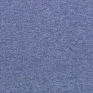 Jersey bleu pour coudre un patron de gilet